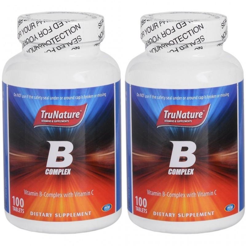 Trunature B complex ve Vitamin C 100 Tablet 2 adet