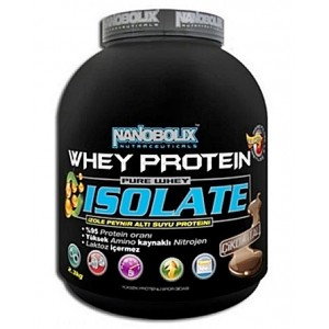 Nanobolix Whey Protein İsolate Whey Proteini Çikolatalı 2300 gr