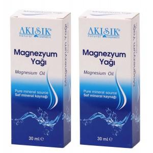 Akışık Magnezyum Yağı 30 Ml Sprey Saf Mineral 2 Adet