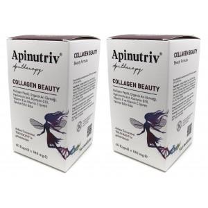 Apinutriv Collagen Beauty 60 Kapsül 2 Adet