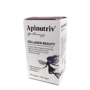 Apinutriv Collagen Beauty 60 Kapsül