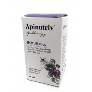 Apinutriv Immun Plus 60 Gram Ankara Üni. Teknokent te geliştirimiştir