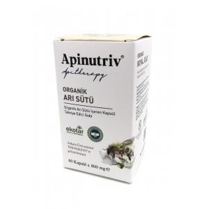 Apinutriv Organik Arı Sütü 60 Kapsül