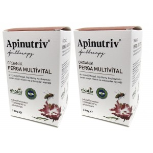 Apinutriv Organik Perga Multivital 220 Gram