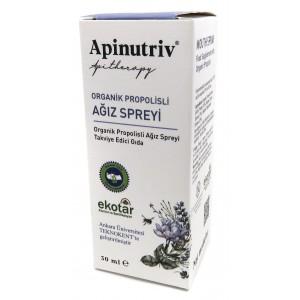 Apinutriv Organik propolisli ağız spreyi 30 ml