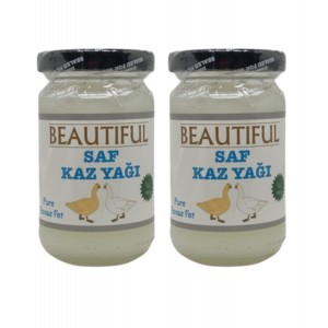 Beautiful Saf Kaz Yağı Pure Goose Fat 105 gr 2 Adet