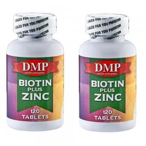 Dmp Biotin Plus Zinc 120 Tablets 2 Kutu