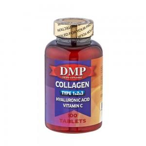 DMP Collagen Tip 1-2-3 Hyaluronic Acid Vitamin C 100 Tablets