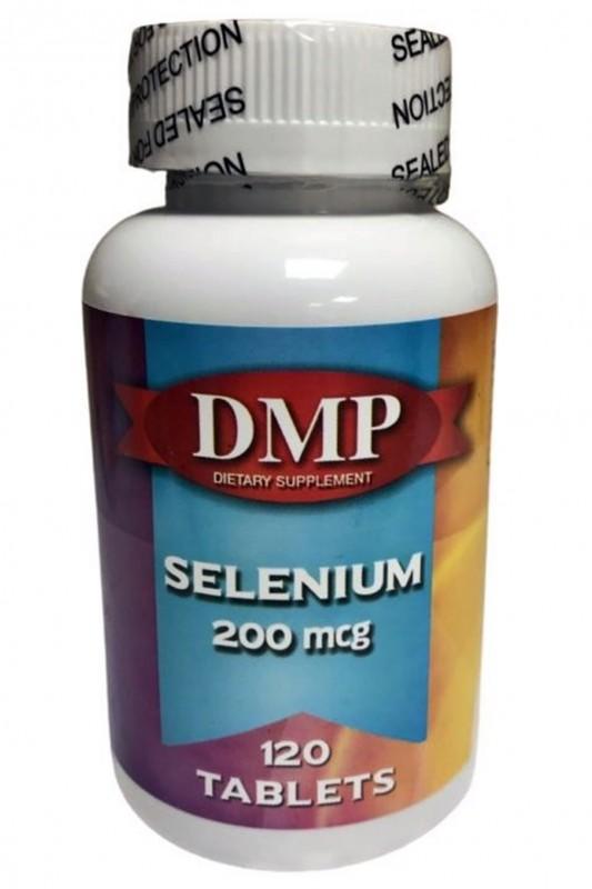 Dmp Selenyum 200 Mcg 120 Tablet Skt 06-2023