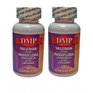 Dmp Valerian Plus Passiflora Melisa Lavanta 60 Kapsül 2 Adet