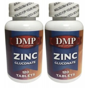 Dmp Zinc Gluconate Çinko Glukonat 120 Tablet 2 Kutu Bitki Çayı He