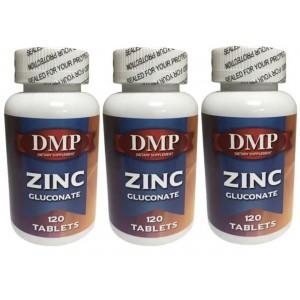 Dmp Zinc Gluconate Çinko Glukonat 120 Tablet 3 Kutu Bitki Çayı He