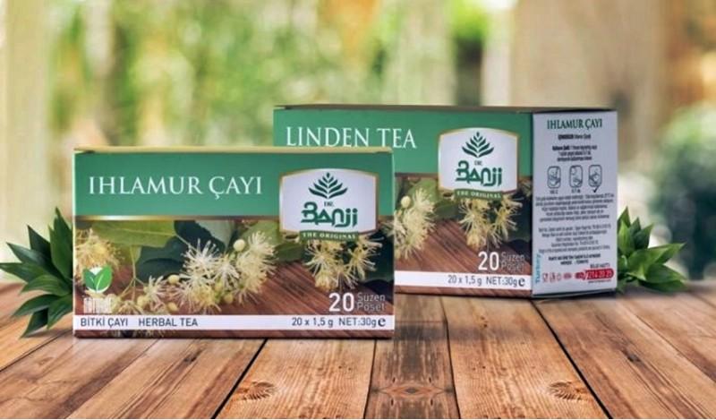 Dr. Banji Ihlamur Bitki Süzen Poşet Çay 4'lü 20 x 1.5 G