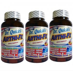 Dr Quicks Arthi-fx Glucosamine Chondroitin Msm Hyaluronic acid