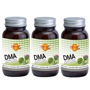 Force Nutrition DMA Deve Dikeni Enginar Ekstresi Karahindiba 60 Tablet 3 Adet