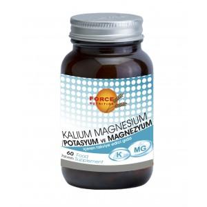 Force Nutrition Potasyum Magnesyum 60 Tablet