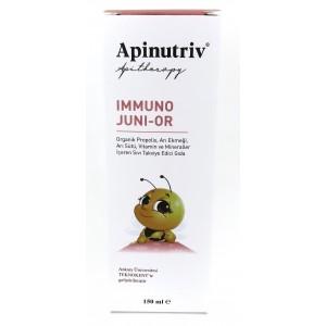 Apinutriv Immuno Juni-Or Propolisli Ballı şurup 150 ml