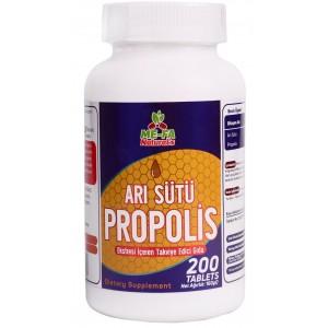 Mefa Naturals Arı Sütü Propolis 200 Tablet