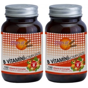 Meka Nutrition B Complex Selenium Zinc 120 tablet