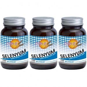Meka Nutrition Selenyum (Selenium) 200 mcg 120 Tablet 3 Adet