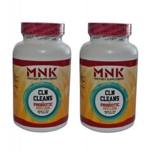Mnk Cln Cleans Probiyotic Psyllium 60 Kapsül 2 Adet