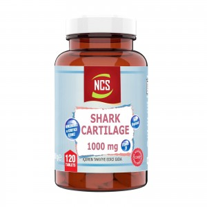 Ncs Shark Cartilage Demir Vitamin D3 1000 mg 120 tablet