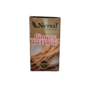 Nevsal Ginseng Toz Ekstratı Saf Kargo Bizden 15 Gr