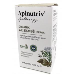 Organik Arı Ekmeği (Perga) (Kapsül Takviye Edici Gıda) 90 kapsül