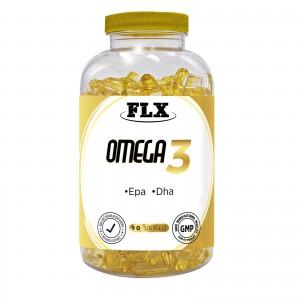 Flx Omega 3 Balık Yağı DHA EPA Omega 3 Balık Yağı 90 Softgel