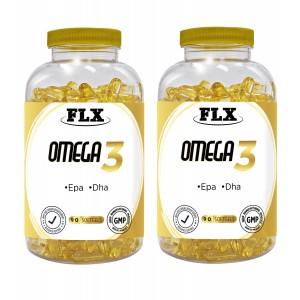 FLX OMEGA 3 BALIK YAĞI DHA EPA OMEGA 3 BALIK YAĞI 90 SOFTGEL