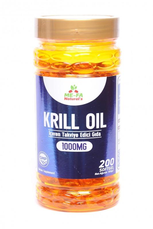 Mefa Naturals Kırmızı Krill Oil 200 Softgels