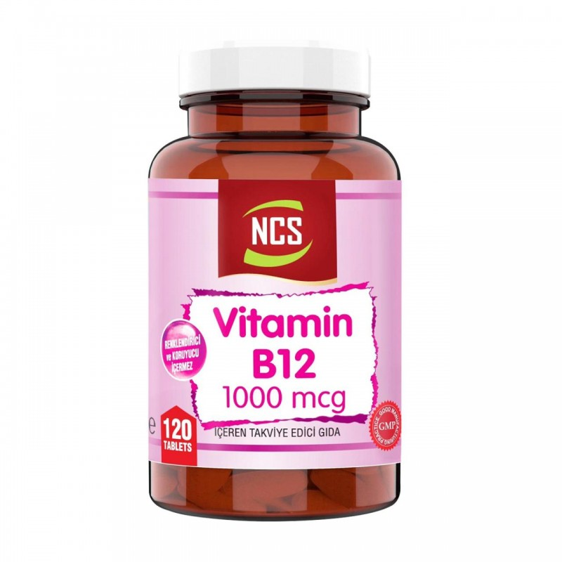 Ncs Vitamin B12 Metilkobalamin 1000 mcg 120 Tablet