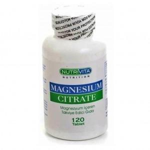 Nutrivita Nutrition Magnesium Citrate 250 mg 120 Tablet